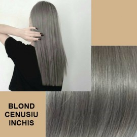 Cozi de par diamond  Blond Cenusiu Inchis