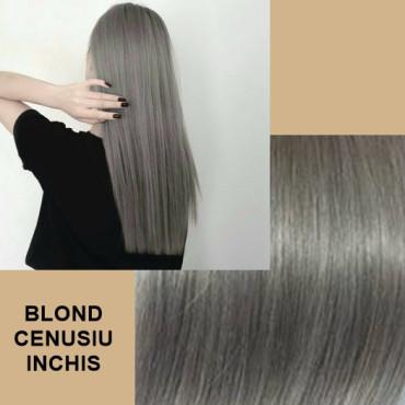 Cozi De Par Diamond Blond Alb