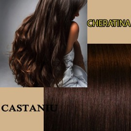 Cheratina Castaniu Simplu