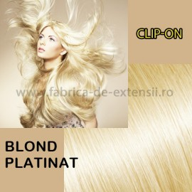 Clip-On Blond Platinat