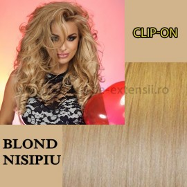 Clip-On Blond Nisipiu