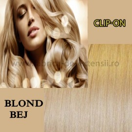 Clip-on Blond Bej
