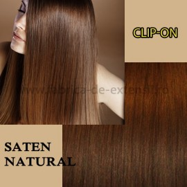 Clip-on Saten Natural