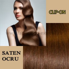Clip-on Saten Ocru