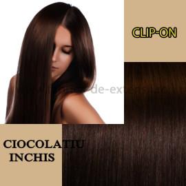 Clip-On Ciocolatiu Inchis