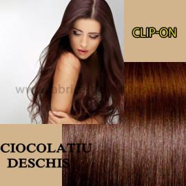 Clip-on Ciocolatiu Deschis