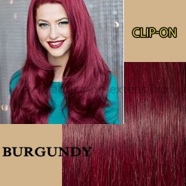 Clip-On Burgundy