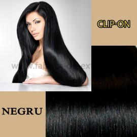 Clip-On Negru Intens