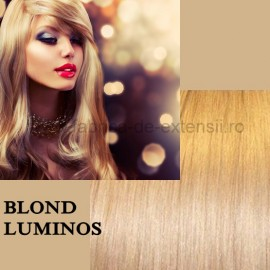 Extensii La Metru Blond Luminos