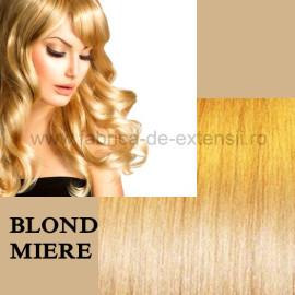 Extensii La Metru Blond Miere