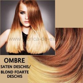 Extensii La Metru Ombre Saten Deschis Blond Foarte Deschis