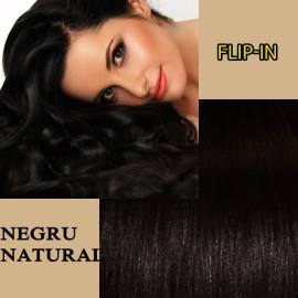 Flip In Negru Natural