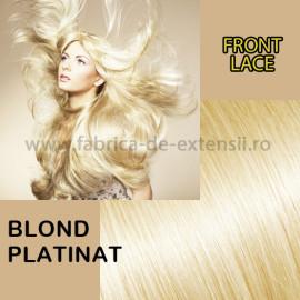 Front Lace Blond Platinat