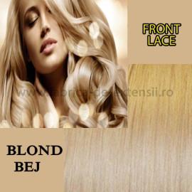 Front Lace Blond Bej