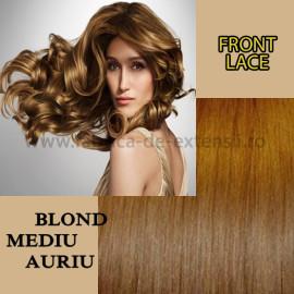 Front Lace Blond Mediu Auriu