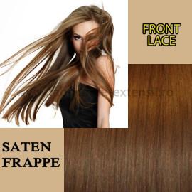 Front Lace Saten Frappe