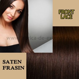 Front Lace Saten Frasin