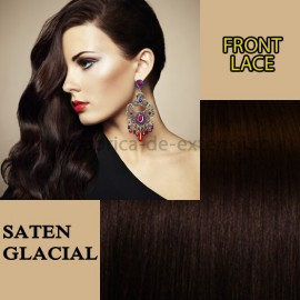 Front Lace Saten Glacial