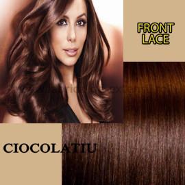 Front Lace Ciocolatiu