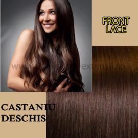 Front Lace Castaniu Deschis