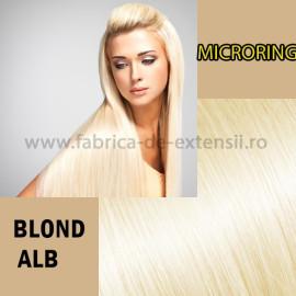 Microring Blond Alb