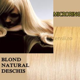 Microring Blond Natural Deschis