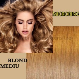 Microring Blond Mediu