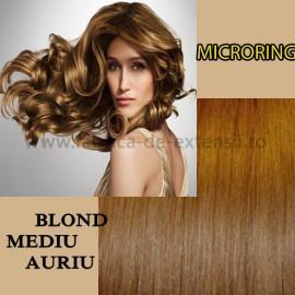 Microring Blond Mediu Auriu