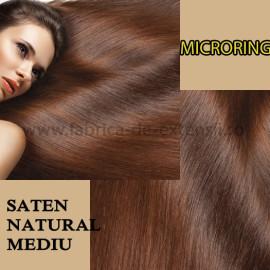 Microring Saten Natural Mediu