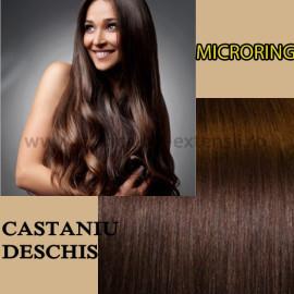 Microring Castaniu Deschis