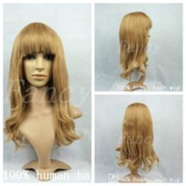 Peruca din Par Natural Delicate Blonde