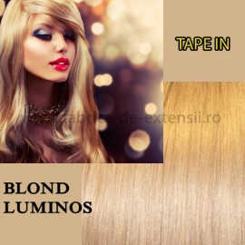 Extensii Tape In Blond Luminos