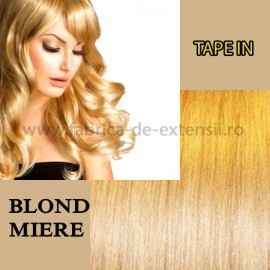 Extensii Tape In Blond Miere