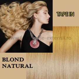 Extensii Tape In Blond Natural