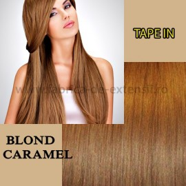 Extensii Tape In Blond Caramel