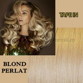 Extensii Tape In Blond Perlat