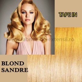 Extensii Tape In Blond Sandre