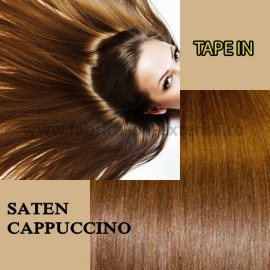 Extensii Tape In Saten Cappuccino