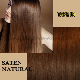 Extensii Tape In Saten Natural