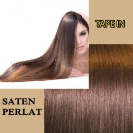 Extensii Tape In Saten Perlat