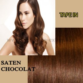 Extensii Tape In Saten Chocolat