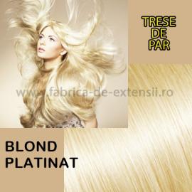 Trese de Par Blond Platinat