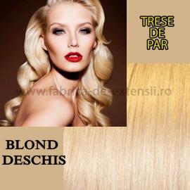 Trese de Par Blond Deschis