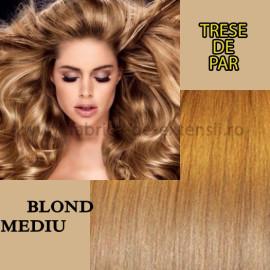 Trese de Par Blond Mediu