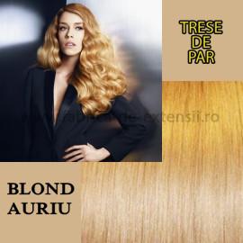 Trese De Par Blond Auriu