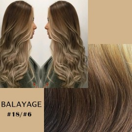Clip-on  Balayage #18/#6