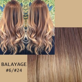 Clip-on  Balayage #6/#24