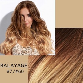 Extensii tape in  Balayage #7/#60