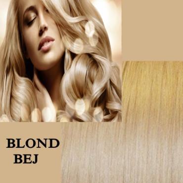 Clip On Deluxe Blond Bej