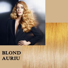 Clip-on Deluxe Blond Auriu